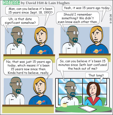 Hatbag by David Hitt and Lain Hughes comic As Time Goes By webcomic