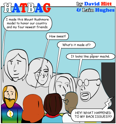 Hatbag by David Hitt and Lain Hughes comic you guys rock webcomic