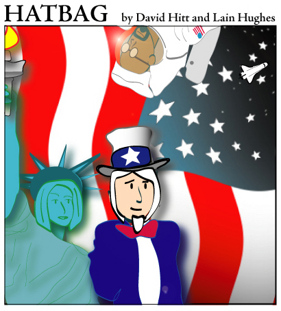 Hatbag by David Hitt and Lain Hughes fourth of july hatbag webcomic