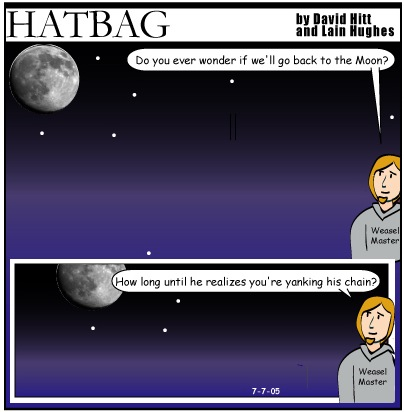 Hatbag by David Hitt and Lain Hughes comic if you believe minus jenny and guy webcomic