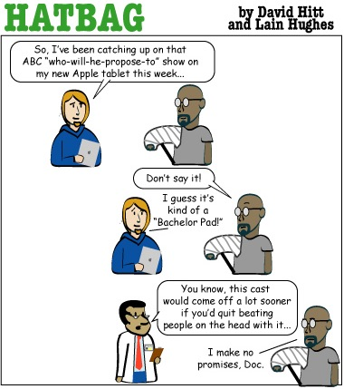 "This week""s Hatbag strip"