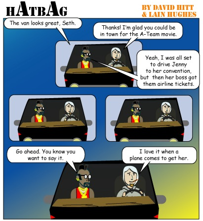 Hatbag by David Hitt and Lain Hughes a viscous circle webcomic