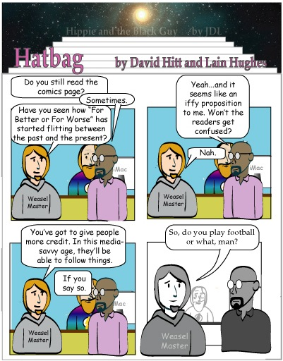 Hatbag by David Hitt and Lain Hughes comic Remember Farley webcomic