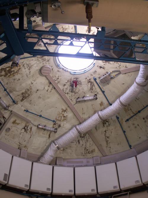 skylab mock-up interior