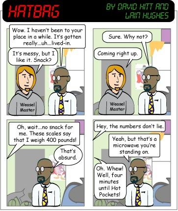 Hatbag by David Hitt and Lain Hughes the mess hall webcomic