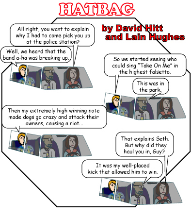 Hatbag by David Hitt and Lain Hughes the sopranos webcomic